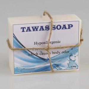 Кокосовое мыло с квасцами TAWAS, 135 гр