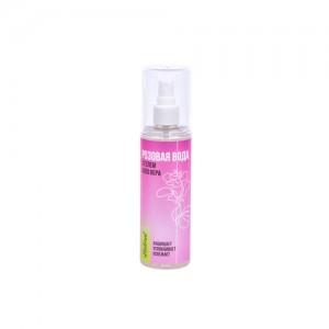 Розовая вода с гелем Алоэ Вера
