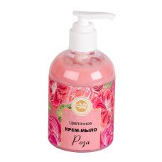 Крем-мыло Цветочное Роза, 260 г