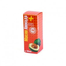 Масло Авокадо + экстракт василька, 30 мл