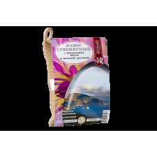 Джутовая мочалка с мыльной стружкой Гурзуф, 100 г