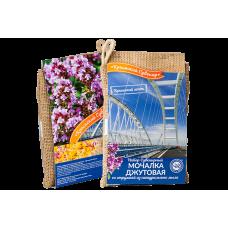 Джутовая мочалка с мыльной стружкой Крымский мост, 100 г