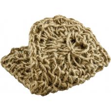 Варежка для пилинга из натуральной джутовой нити, Кесе