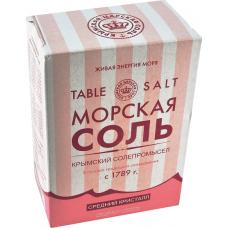Крымская морская соль пищевая, 800 г