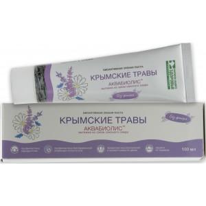 Зубная паста АКВАБИОЛИС Крымские травы