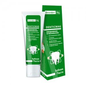 Зубная паста Denticmag ежедневное отбеливание, 75 мл