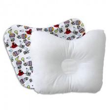 Подушка бабочка для новорожденных со съемной наволочкой