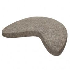 Подушка для йоги и медитации Брахма с лузгой гречихи, 55х40х11 см,