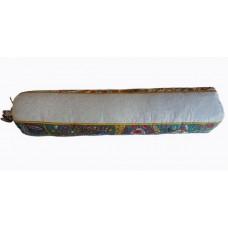 Можжевелово лавандовый валик со стружкой Крымской сосны, средней плотности, 8х40 см