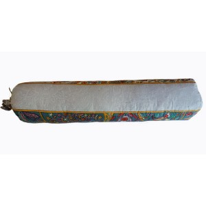 Можжевелово лавандовый валик для спины, средней плотности, 8х40 см